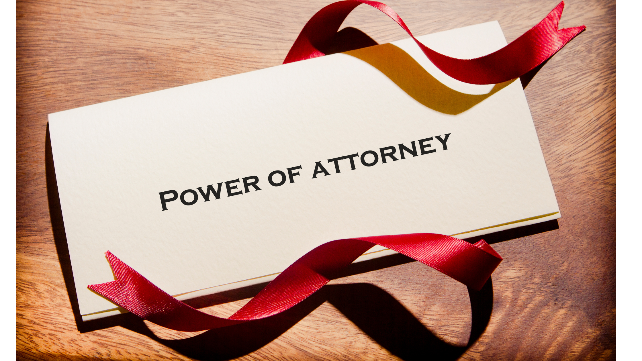 Fiduciary Duty Under a Power of Attorney